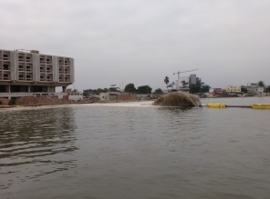 Reclamation in Baia de Luanda