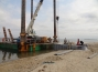 Sheet Piling for Marina Construction, Baia do Mussulo